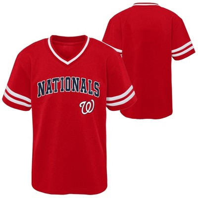 MLB Washington Nationals Toddler Boys' Pullover Jersey