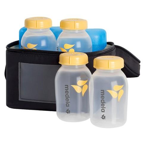 Medela Breast Milk Cooler Set with Bottles & Lids, Cooler and Ice Pack - image 1 of 3