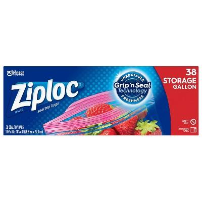 Ziploc Storage Gallon Bags