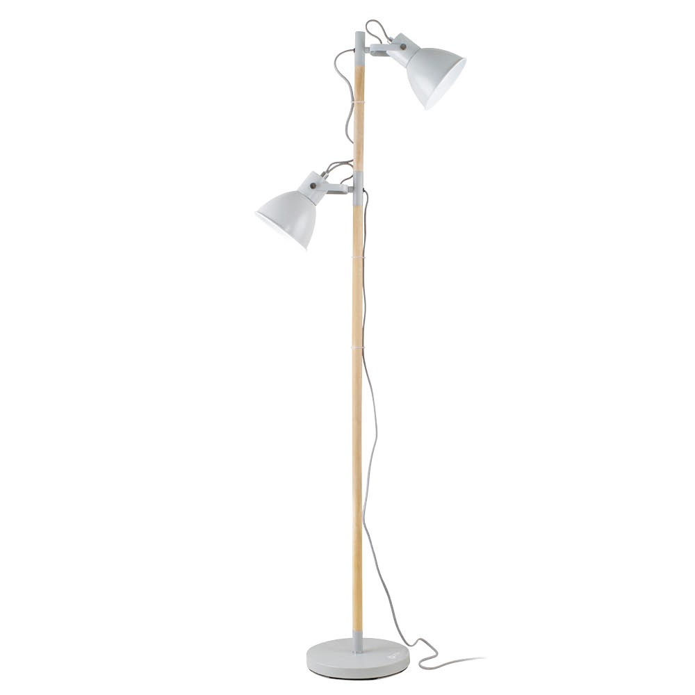 Image of Avery Floor Lamp Gray (Includes Energy Efficient Light Bulb) - OttLite