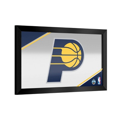 NBA Indiana Pacers Team Logo Wall Mirror