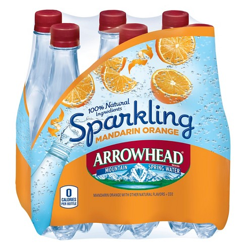 Arrowhead Sparkling Orange - 6pk/.5 L Bottles - image 1 of 1