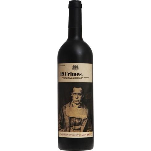 19 Crimes Cabernet Sauvignon Red Wine - 750ml Bottle - image 1 of 2