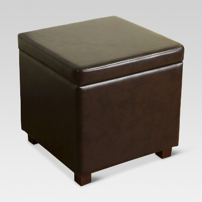 Admirable Collins Cube Storage Ottoman Threshold Target Inventory Machost Co Dining Chair Design Ideas Machostcouk