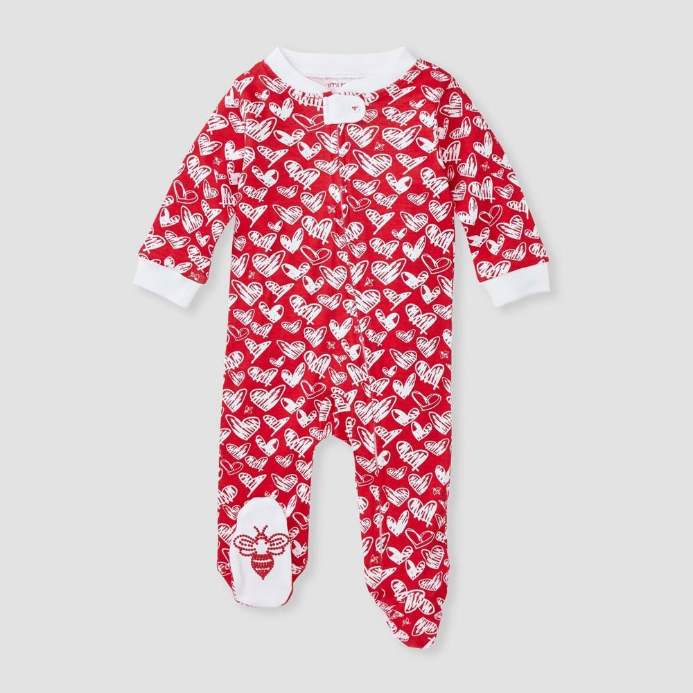 Burt 39 S Bees Baby 174 Baby Girls 39 Heartbeat Sleep N 39 Play Pink 3 6m