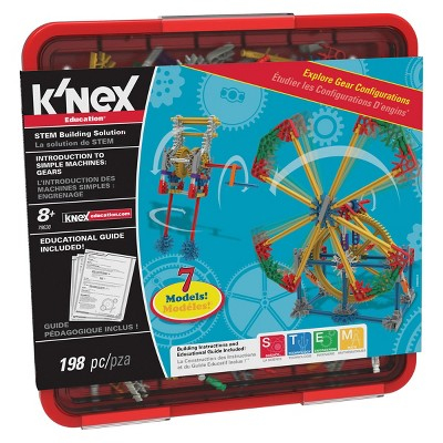 K'NEX(R) Introduction to Simple Machines: Gears - 7 Model Builds