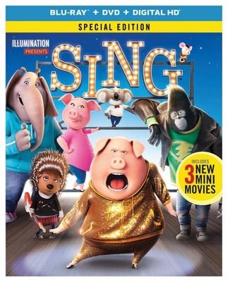 Sing (Blu-ray + DVD + Digital)