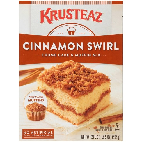 Krusteaz Cinnamon Crumb Cake & Muffin Mix -21oz - image 1 of 3