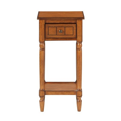 French Country Khloe Accent Table Walnut - Breighton Home
