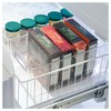 """mDesign Plastic Stackable Food Storage Organizer Bin, 14.5"""" Long, Clear - image 3 of 4"""