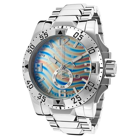 Men's Invicta 15971 Excursion Quartz Chronograph Brown and Blue Dial Link Watch - Brown/Blue - image 1 of 1