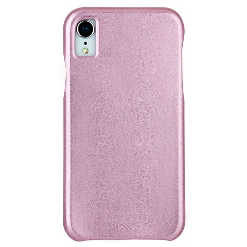 Case Mate Apple Iphone Xr Barely There Leather Case Target