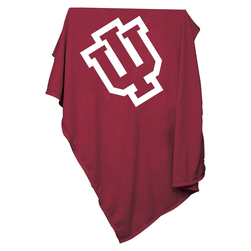Indiana Hoosiers Sweatshirt Throw Blanket