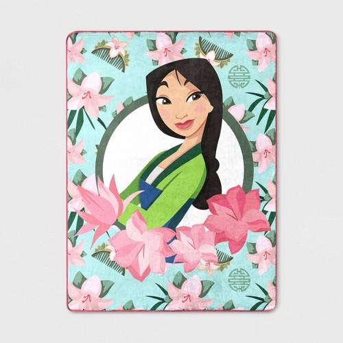 Disney Mulan Throw Blanket   Best Gifts for Mulan Fans