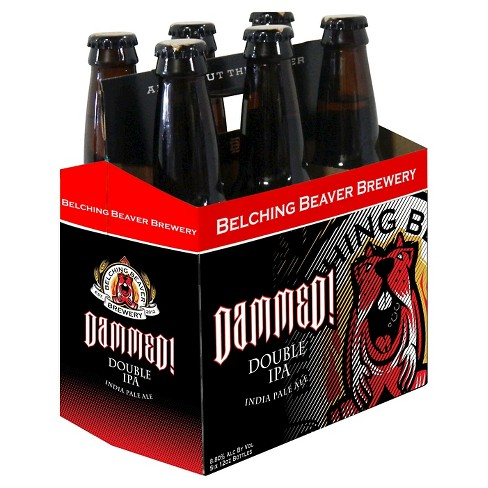 Belching Beaver® Dammed Double IPA - 6pk / 12oz Bottles - image 1 of 1