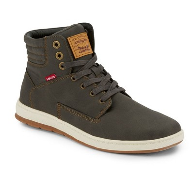 Levi's Mens Fletcher 2 Waxed UL NB Fashion Hightop Sneaker Shoe