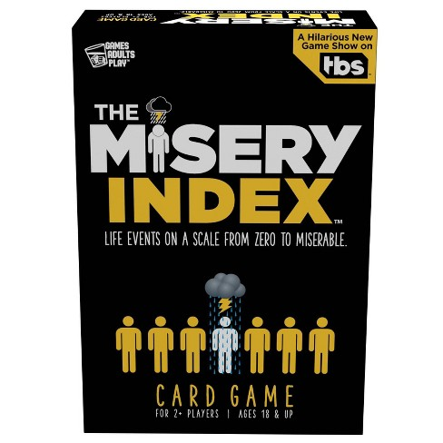 Games Adults Play The Misery Index Card Game - image 1 of 4