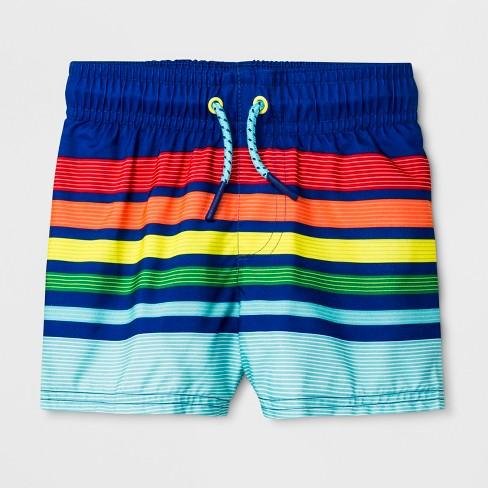 7187806a20 Baby Boys' Swim Trunks - Cat & Jack™ Blue : Target
