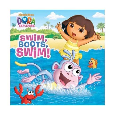 Swim, Boots, Swim! - (Pictureback(r)) (Paperback) - image 1 of 1
