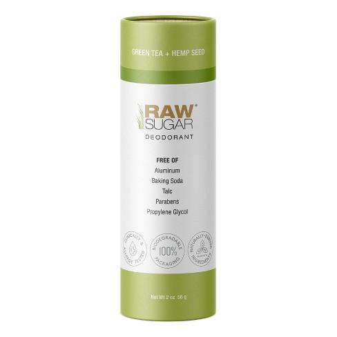 Raw Sugar Green Tea + Hemp Seed Aluminum Free Deodorant- 2oz - image 1 of 4