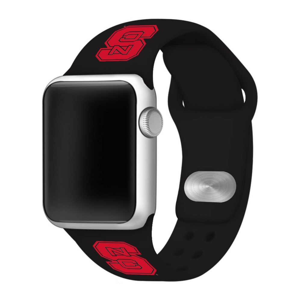 Ncaa North Carolina State Wolfpack Silicone Apple Watch Band 42mm