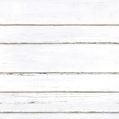 Roommates 28 2 Shiplap P S Wallpaper White Target