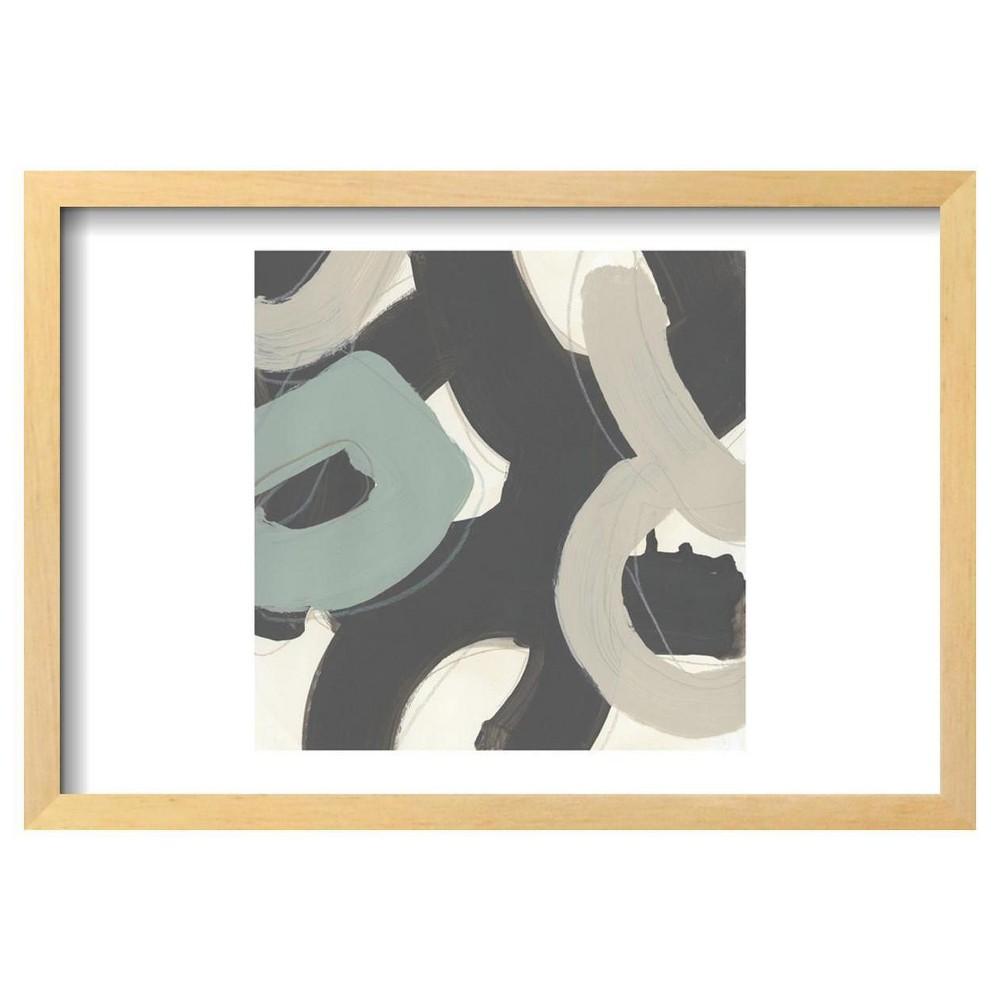 Clean Slate Vi By June Erica Vess Framed Poster 19