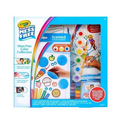 Crayola 86pc Color Wonder Mess Free Box Set