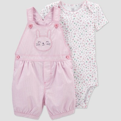 Baby Girls' Bunny Top & Bottom Set - Just One You® made by carter's Pink