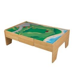 KidKraft Wooden Train Table - Natural