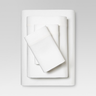 King Linen Blend Sheet Set White - Threshold™