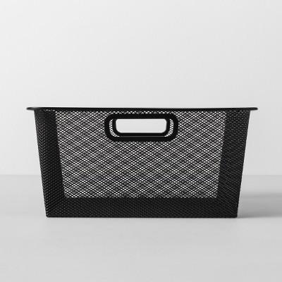 Short Metal Sweater Bin 13 W X 13 D X 6.25 H - Black - Made By Design™
