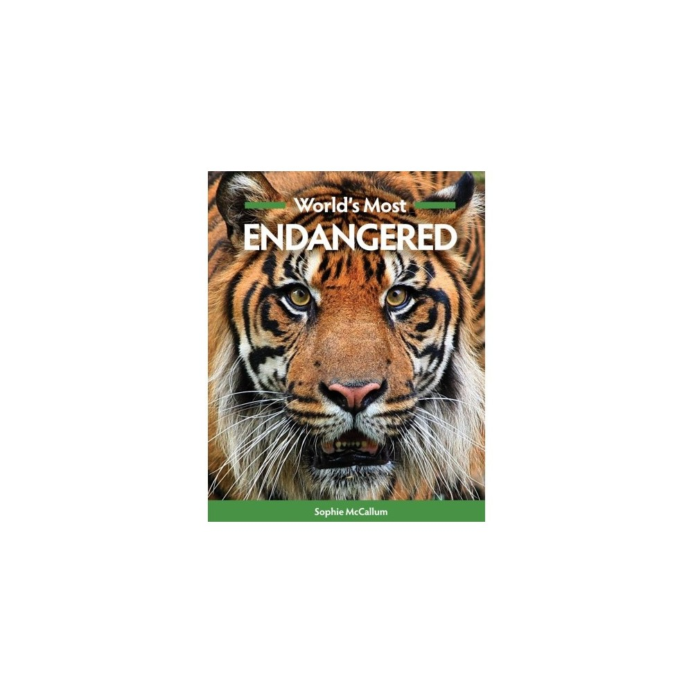 World's Most Endangered - 1 by Sophie Mccallum (Paperback)