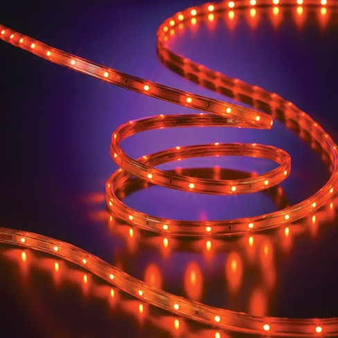 Philips 135ct Halloween LED Flat Rope Lights - Orange - image 1 of 3