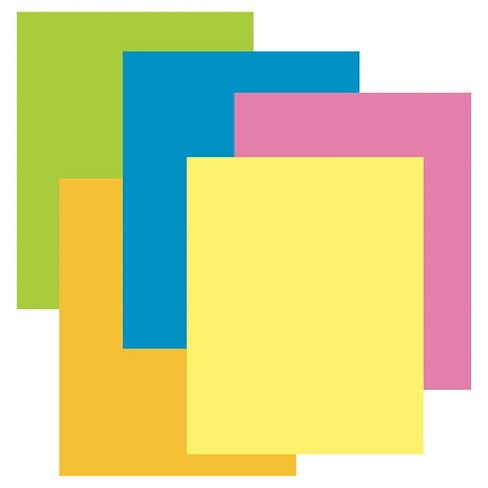 28x22 assorted neon color poster boards up up target