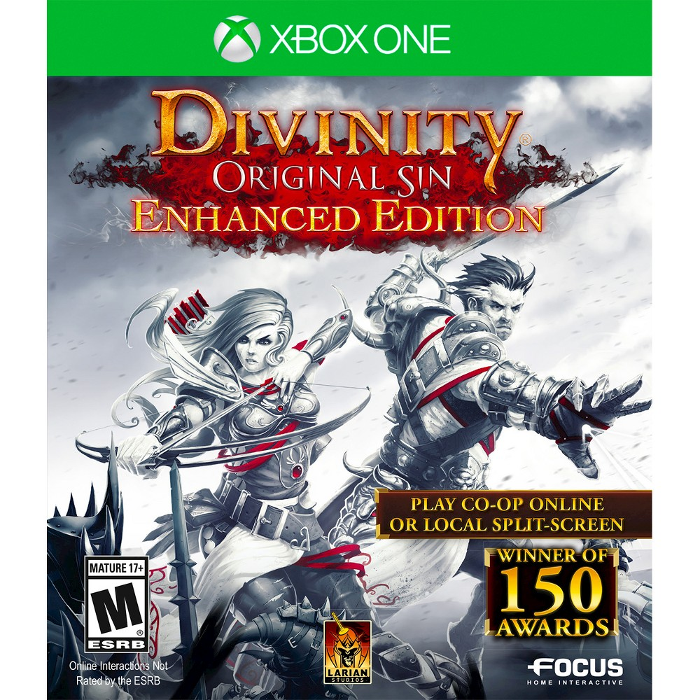 Divinity: Original Sin Enhanced Edition Xbox One Become a Source Hunter and investigate the presence of dark magic in Divinity: Original Sin Enhanced Edition (Xbox One) - Microsoft. The game works for Xbox One consoles. The roleplaying video game is recommended for ages 17 and up.