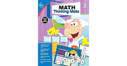 Math Thinking Mats Grade 3 (Paperback) - image 1 of 1