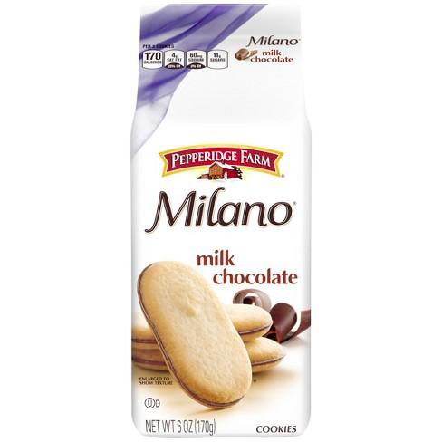 Pepperidge Farm® Milano® Milk Chocolate Cookies, 6oz Bag - image 1 of 6