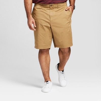 "Men's Big & Tall 10.5"" Linden Flat Front Shorts - Goodfellow & Co™"