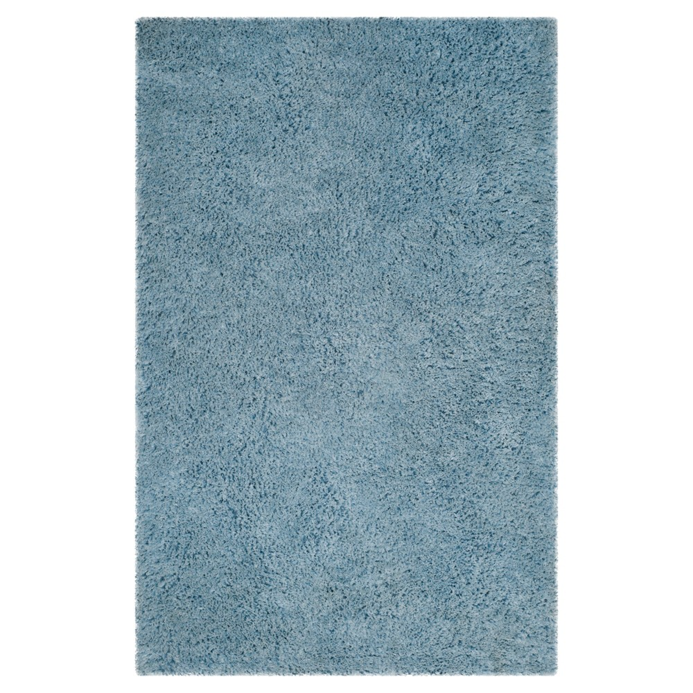 Light Blue Solid Tufted Area Rug - (8'x10') - Safavieh
