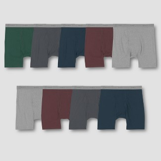 Hanes Men's Comfort Soft Boxer Briefs Super Value 9pk - Colors May Vary L