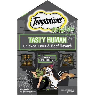 Temptations Tasty Human Haunted House Cat Treats - 16oz