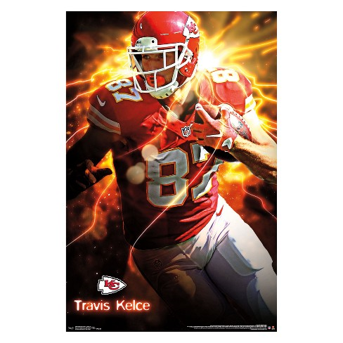 Kansas City Chiefs Travis Kelce Unframed Wall Poster - image 1 of 2