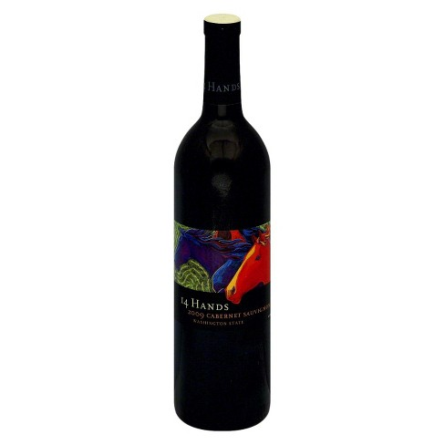 14 Hands® Cabernet Sauvignon - 750mL Bottle - image 1 of 1