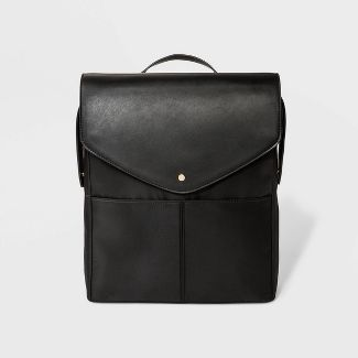 Commuter Flap Backpack - A New Day™ Black