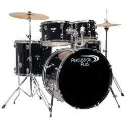 Percussion Plus Drums 5pc Drum Set - Black