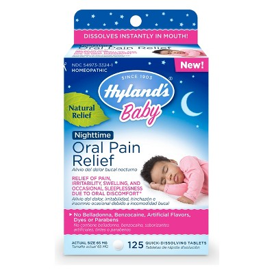 Hyland's Baby Nighttime Oral Pain Relief - 125ct