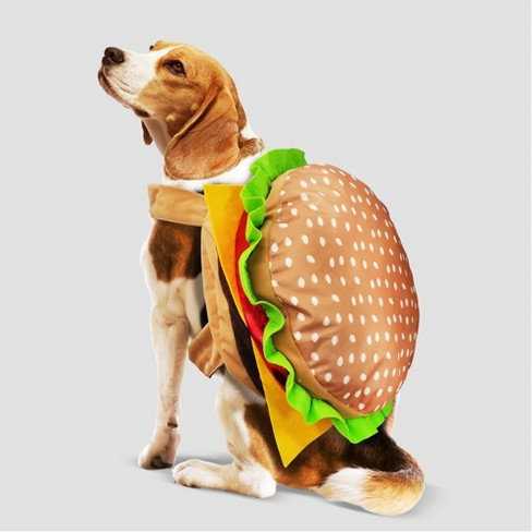 Burger Halloween Dog and Cat Costume - Hyde & EEK! Boutique™ - image 1 of 4