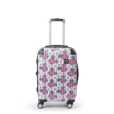 "FUL Disney Minnie Mouse Printed 21"" Hardside Rolling Suitcase - Floral"
