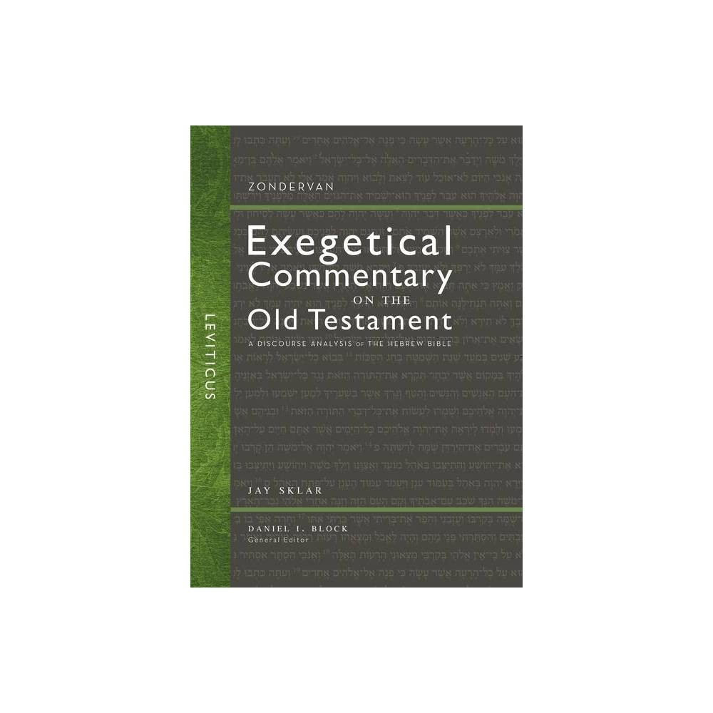 Leviticus Zondervan Exegetical Commentary On The Old Testament By Jay Sklar Hardcover